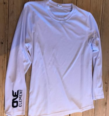 long-sleeved training t-shirt