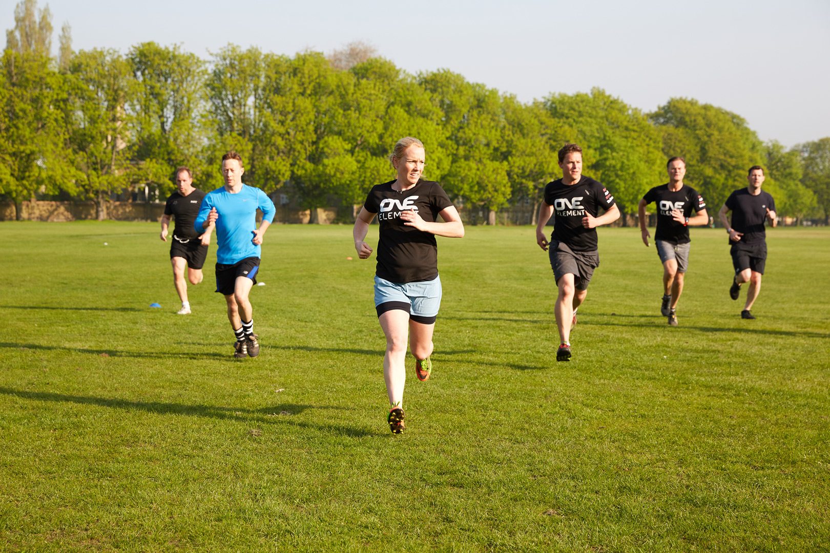 Social Fitness Movement One Element Comes to Clapham Common