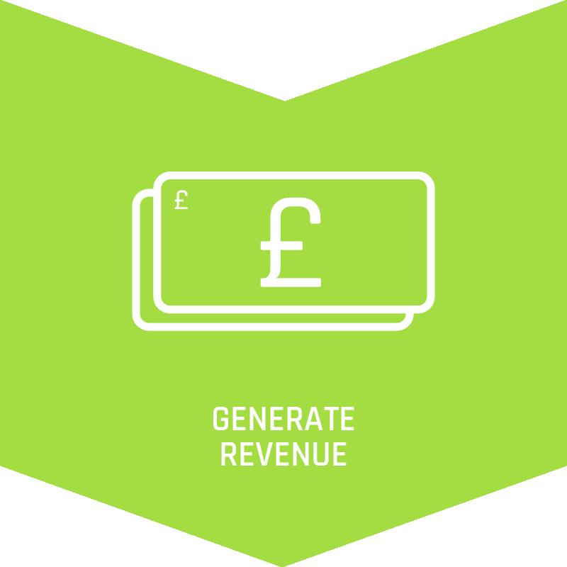 Generate revenue